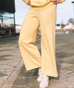 Cashmere Trousers Tender Yellow