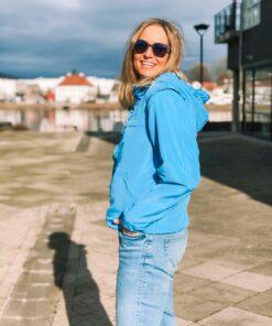Vela Wind Jacket Azure Blue