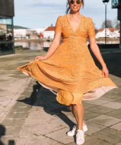 Aldora Dress Golden Nugget