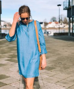 Jones Dress Classic Blue Denim