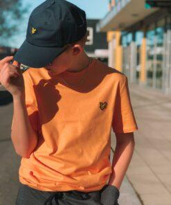 Plain Crew Neck T-Shirt Melon