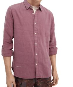 Garment-dyed Linen Shirt Resort