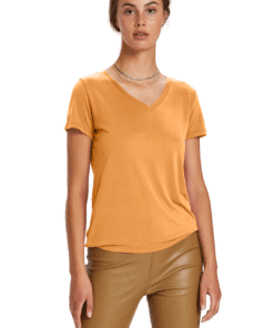 Columbine V-Neck T-Shirt SS Golden Nugget