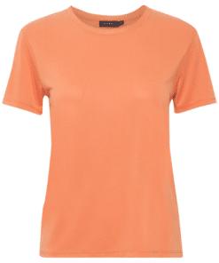 Columbine Crew-Neck T-Shirt SS Carnelian