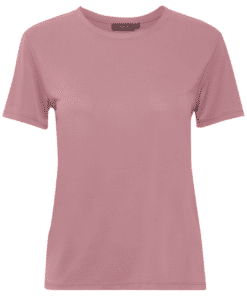 Columbine Crew-Neck T-Shirt SS Mesa Rose