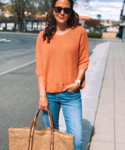 Tuesday Cotton Jumper Carnelian Mel