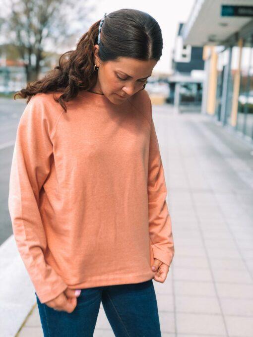 Sea Sweatshirt Carnelian Mel