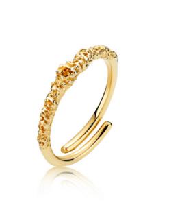 Silke x Sistie Ring Simple Gold