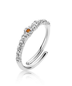Silke x Sistie Ring Simple Silver