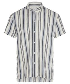 Emanuel Short Sleeve Shirt Navy Blazer