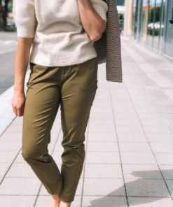 Bell Slim Fit Chino Olive