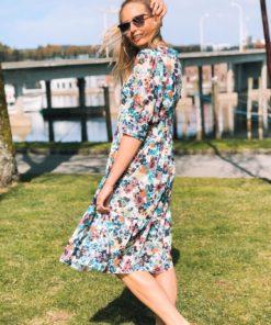 Poppie Dress Vivid Floral Print