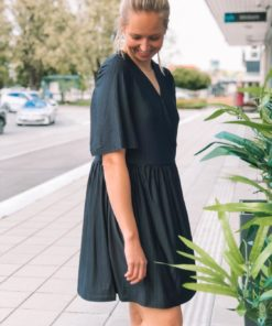 Sasky Dress Black
