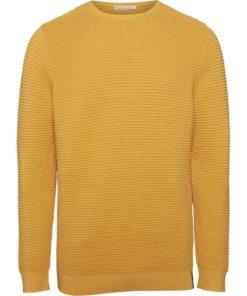 Wave o-neck knit