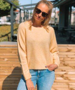 Nor o-n Short Sweater Jojoba Mel