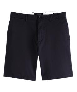 Stuart Pima Cotton Shorts Steel