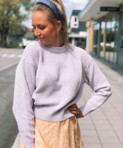 Mikala Sweater Lavender Blue