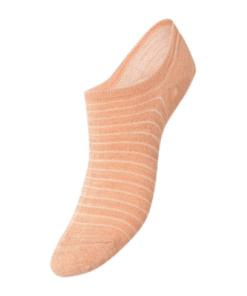Sneakie Stripe Sock Dusty Pink