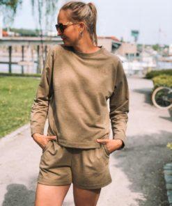 Brise Sweatshirt Ermine Melange
