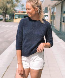 Nanna Raccoon Sweater Night Sky