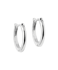 Hoops Classic 8 mm Silver