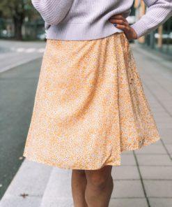 Britt s Wrap Skirt Golden Aster