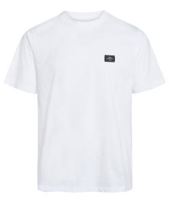 Organic Twin Badge T-Shirt White