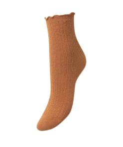 Olga Crochet Sock Warm Sand