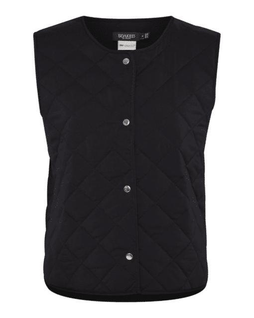 Zaria Vest Black