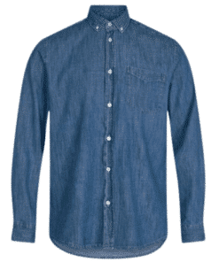 Woodlee Blå Skjorte