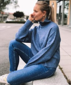 Nola t-n Sweater China Blue