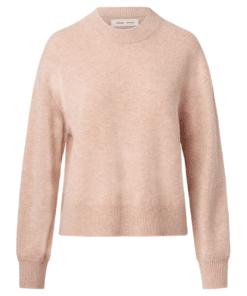 Amaris Crew Neck Sweater Mahogany Rose