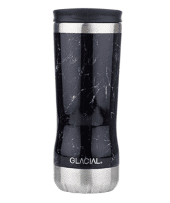 Glacial Thermo Cup Black Marble 350ml