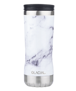 Glacial Thermo Cup White Marble 350ml