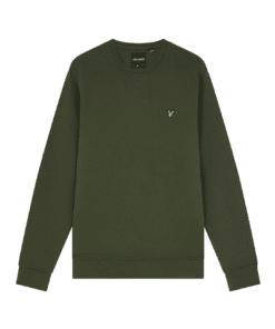 Crew Neck Sweatshirt Olive