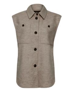Bambi Waistcoat Beige Vest