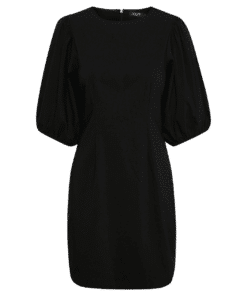 Zazu Dolore Dress Sort Kjole