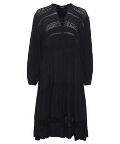 Loretta Dress Sort Kjole