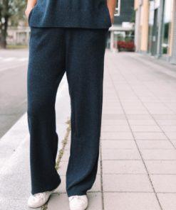 Amaris Mørkeblå Bukser