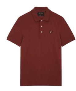 Polo Piquet Rust T-Skjorte